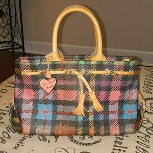 Perfect condition 1990s Dooney & Bourke tote